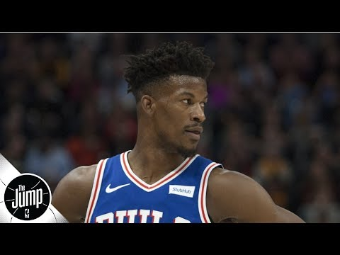 Video: Jimmy Butler claps back at Instagram commenter who said he isn't worth max | The Jump