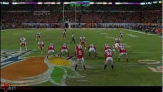 Corey Linsley vs Clemson (2013)