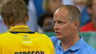 2008 OLPTM   China   Ind  M    S  final   WANG Hao Chn 4x1 Jorgen PERSSON Swe