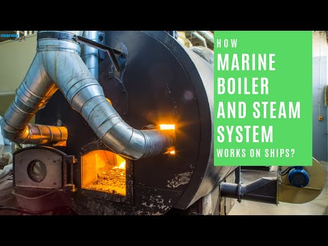 steam boiler animation - Learn about the different parts of the ship's boiler and steam system and also know the correct procedure for boiler operation. To know more about the constr...