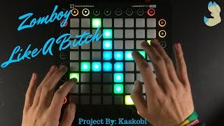 Video Zomboy - Like A Bitch // Launchpad Pro Cover download in MP3, 3GP, MP4, WEBM, AVI, FLV Februari 2017