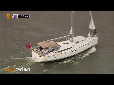 Boat Crossing Stops Ladies Bike Race In Norway With 5km To Go