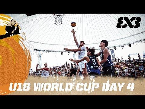 Онлайн-трансляция чемпионата Мира U-18 по баскетболу 3х3. День 4