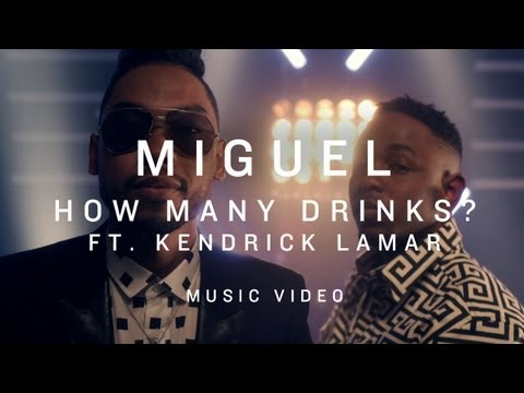 Miguel Ft Kendrick Lamar – How Many Drinks (Remix)
