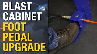 Abrasive Blasting!  Upgrade Your Blast Cabinet with a New Foot Pedal & Gun!Get a Foot Pedal:  http://www.eastwood.com/eastwood-blast-cabinet-foot-pedal-and-gun.html?utm_source=youtubeLIVE&utm_medium=annotation&utm_campaign=2017-07-24&utm_content=Blast%20Cabinet%20Foot%20PedalGet a Blast Cabinet:  http://www.eastwood.com/eastwood-abrasive-media-blast-cabinet.html?utm_source=youtubeLIVE&utm_medium=annotation&utm_campaign=2017-07-24&utm_content=Blast%20CabinetEastwood Blast Cabinet Foot Pedal and Gun kit is designed to replace the standard trigger operated blast gun.Eliminates hand fatigueGives more precise media flowReplaces trigger operated gunsIncludes High-Volume Blast GunThe Foot Pedal eliminates hand fatigue and adds more precise control to the blast media flow. This kit enable you to blast for longer periods of time without having to take breaks due to hand fatigue.For more information on Eastwood products visit www.eastwood.com or stay connected with the team via:Facebook - https://www.facebook.com/eastwoodcompany Instagram - http://instagram.com/eastwoodco Blog - http://www.eastwood.com/blog Eastwood has everything you need to do the job right when you're restoring a car, truck or motorcycle - from welders to paint and everything in between.