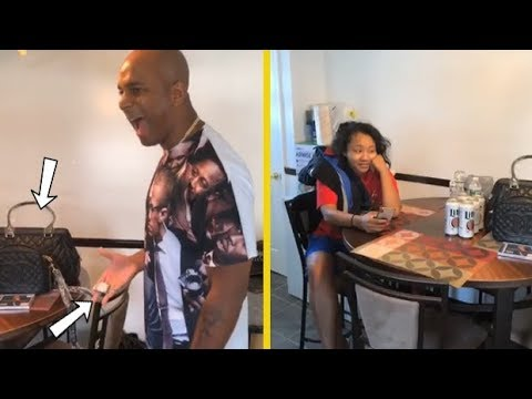 Gillie Da Kid's Cousin Give Gillie's Wife A Bunch Of Bootleg Gifts!