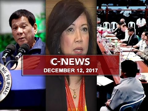 C-News (December 12, 2017) | UNTV News and Rescue