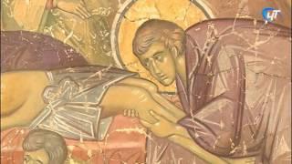 Ковалевские фрески переехали в Центр монументальной живописи новгородского музея-заповедника