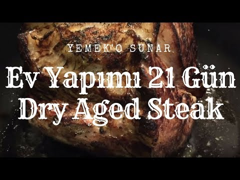 Evde Nasil Dry Aged Steak Yapilir Anlattim 21 Gun Kuru Yaslandirma