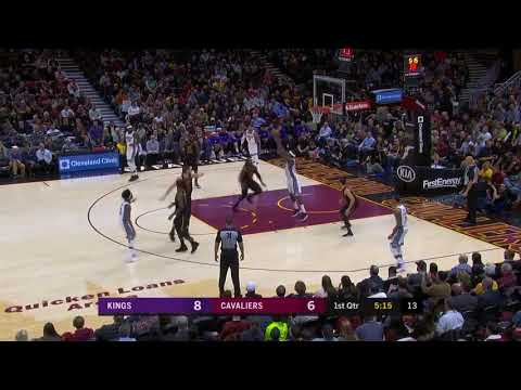 Sacramento Kings vs Cleveland Cavaliers 1st Qtr Highlights!