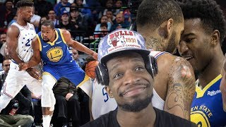 Warriors still look pretty trash to me...  SIXERS vs WARRIORS HIGHLIGHTS