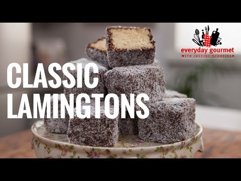 Cadbury Classic Lamingtons | Everyday Gourmet S6 EP45