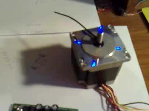 ESMC-04 Stepper motor controller.