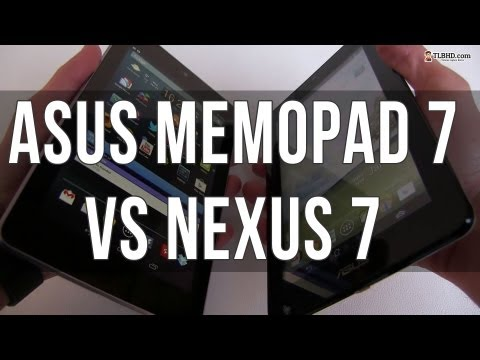 Asus MeMO Pad vs Nexus 7 – cheap tablets compared