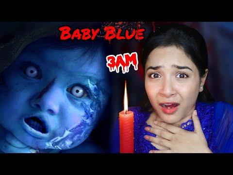 I did *BABY BLUE* Challenge at 3 AM | *G0NE WR0NG* | Nilanjana Dhar