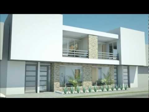Casas modernas team 39 s idea for Casa moderna minimalista 6 00 m x 12 50 m 220 m2