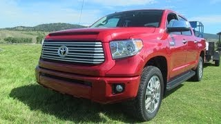 2014 Toyota Tundra First Drive&0-60 MPH Review