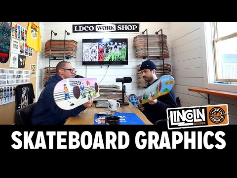 A Deep Dive into Skateboard Graphics with Lincoln Design Co.