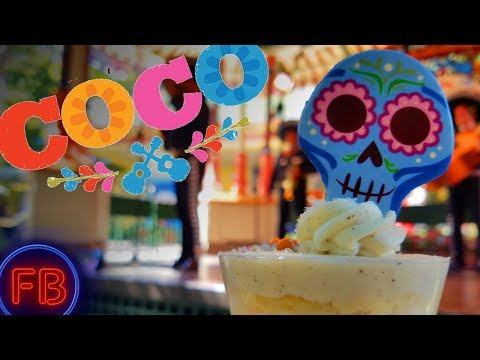 Coco scene for dia de los muertos at Paradise Gardens is fantastic - so is the food!