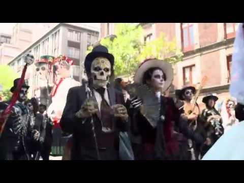 Spectre: Mexico Dia de Muertos Set Behind the Scenes -  Costumes, Make-up