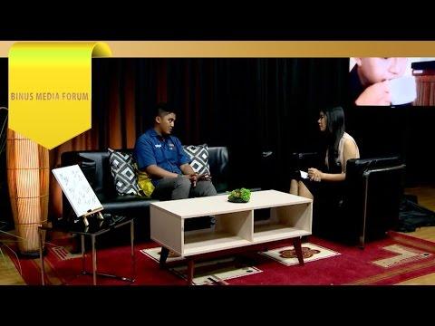 BINUS MEDIA FORUM – Arief Budiman – Peran Seorang Radio Journalist dalam Sonora FM