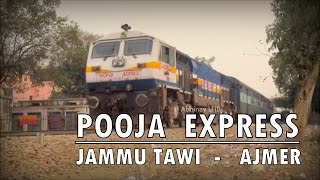 Nonton Jammu Tawi - Ajmer POOJA SUPERFAST EXPRESS departs from Delhi Cantt with BGKT WDP4B #40083 Film Subtitle Indonesia Streaming Movie Download