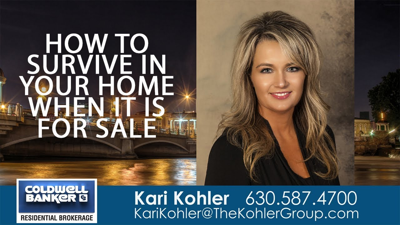 How to Survive in Your Home When It Is for Sale