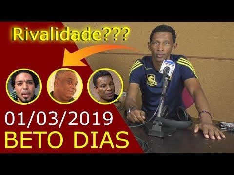 Kinoplex - Beto Dias rispondi se tem rivalidadi ku Gil, Grace e Kino - 01/03/19