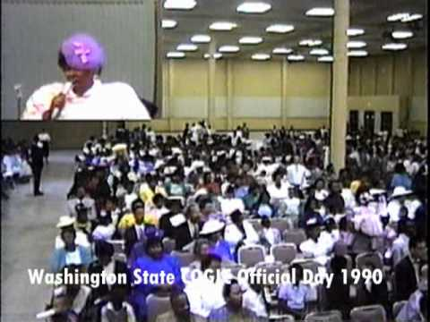 Washington State COGIC Official Day 1990 Part 4