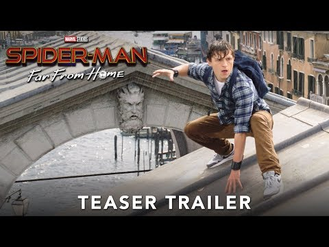 The First Trailer for SpiderMan Far From Home
