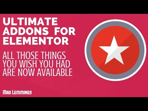 Ultimate Addons For Elementor - The Widgets You Wish You Had