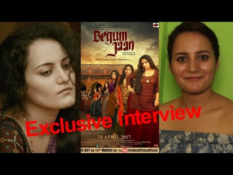 Exclusive Interview With Raviza Chauhan For Film Begum Jaan