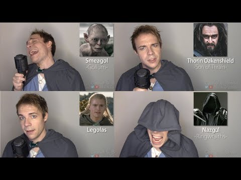 LORD OF THE RINGS/HOBBIT IMPRESSIONS! (Gandalf, Frodo, Smaug, Gimli)