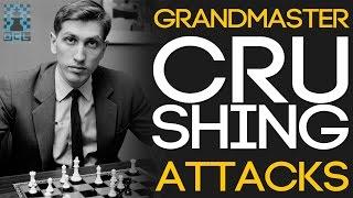 Grandmaster CRUSHING Attacks! - GM Maxim Dlugy (EMPIRE CHESS)