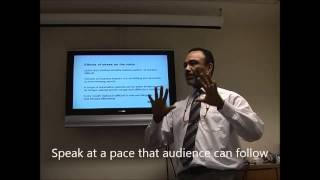 Presentation Skills - Vocal Image and Voice Projection - Part 1 Effects of Stress on the voice