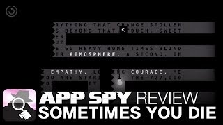 Sometimes You Die  iOS iPhone / iPad Gameplay Review - AppSpy.com