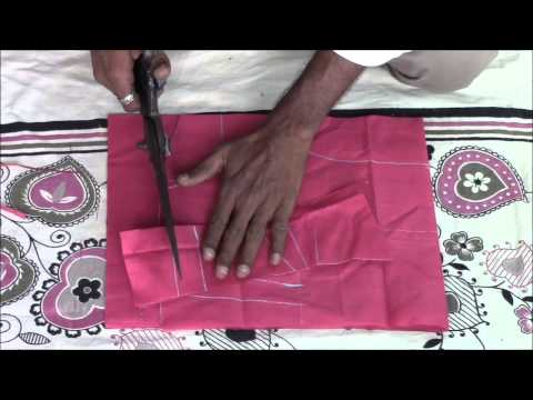 Blouse - In this video you will learn how to cut a perfect blouse.