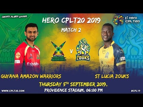 Match 2 Highlights | #GAWvSLZ | #CPL19