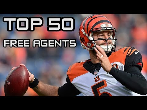 Top 50 NFL Free Agents | Time2Football