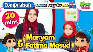 Video SPECIAL COMPILATION | Omar & Hana, Maryam and Fatima Masud | Sing and Learn |No Instruments MP3, 3GP, MP4, WEBM, AVI, FLV Juli 2019