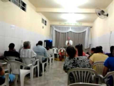 dc Claudio pregando em linopolis