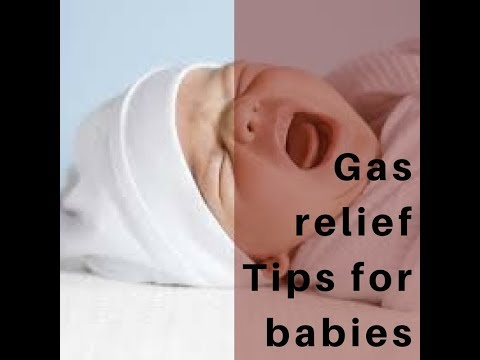 Gas relief Tips for babies