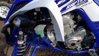 8. Yamaha raptor 700r, 2017 Break in, 10 hour review