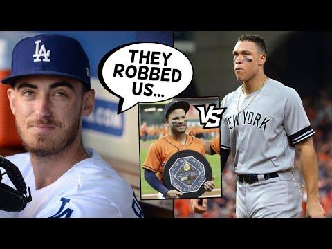 Aaron Judge ROBBED By Astros! Cody Bellinger, Trevor Bauer SLAM Them, Pete Rose.. (MLB News)