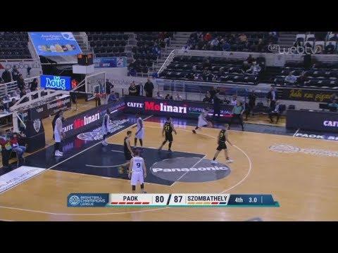BASKETBALL CHAMPIONS LEAGUE: ΠΑΟΚ-ΣΟΜΠΑΤΕΛΙ | 17/12/2019 | ΕΡΤ