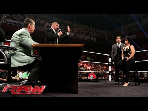 MCMAHON - The McMahon family make some drastic changes regarding the Raw General Manager position.