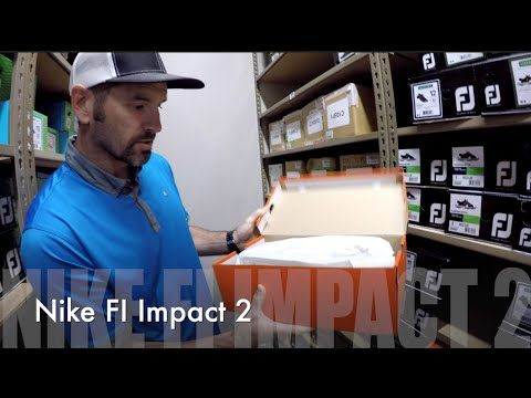 Unboxing w/Jon   Nike FI Impact 2   Golfland Warehouse   Gtv