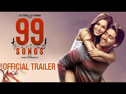 99 SONGS -  Official Trailer | AR Rahman | Ehan Bhat | Edilsy | Lisa Ray | Manisha Koirala