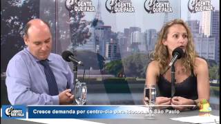 Vanessa Idargo Mutchnik, no programa Gente que Fala, na rádio Trianon. Fala sobre centro dia - um eq