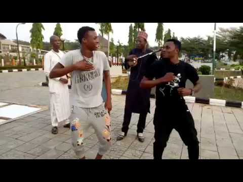 Rawar Matasan Kannywood a Abuja park Sadeeq Adam Real Fish Video